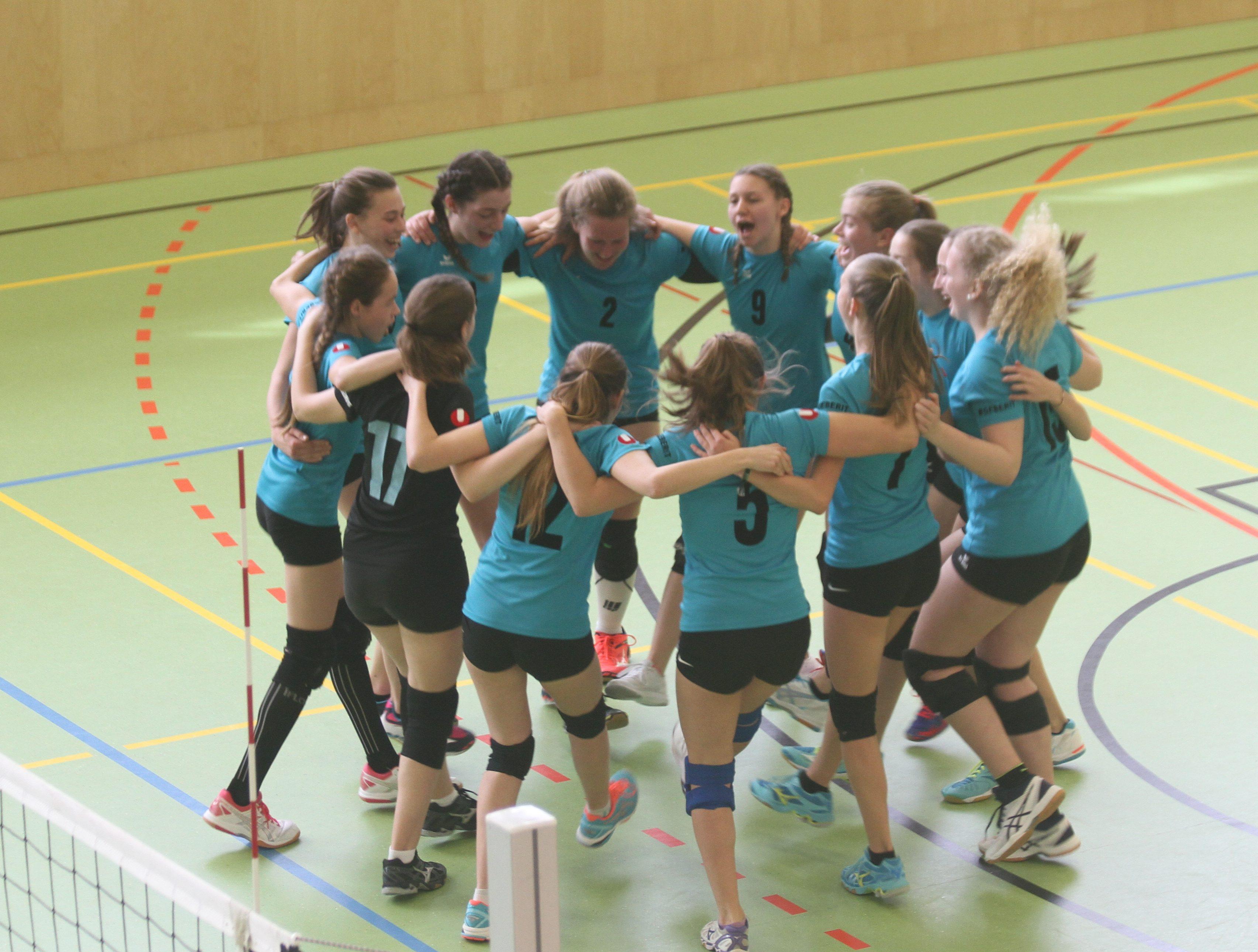 Siegerjubel U17 LMS